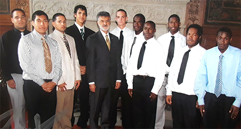 CPP Inaugural Apprentice Class with Mayor Jackson