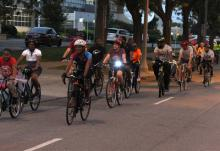 Public power week bike ride